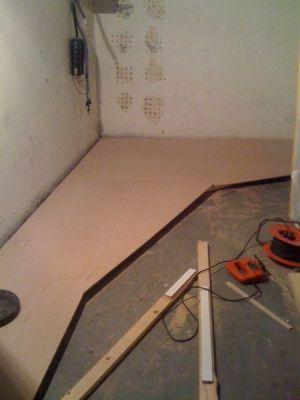 04. Deckenkonstruktion am Boder vorbereiten